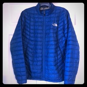 North face coat size large
